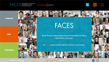 Stiftung Charite Faces Referenz